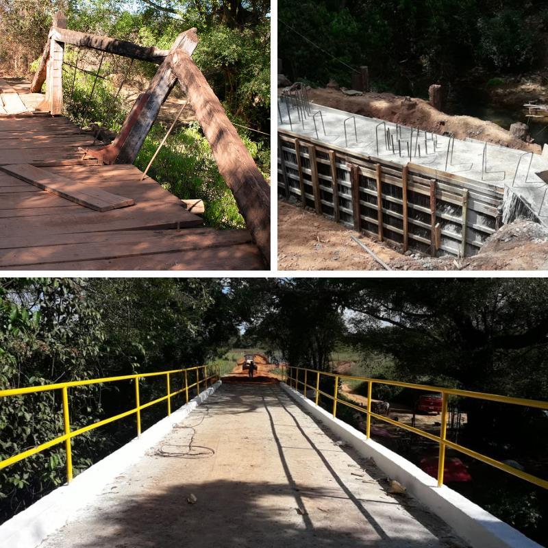 Ponte da região do Brejinho foi inaugurada
