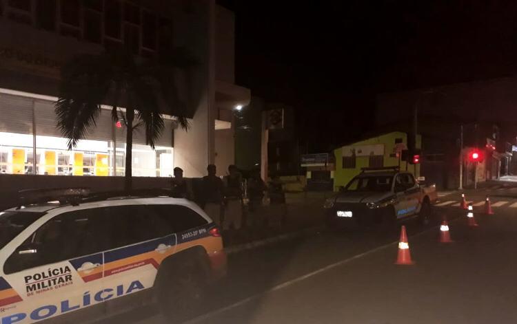 Polícia Militar realiza operação para prevenção a ataques à instituições financeiras
