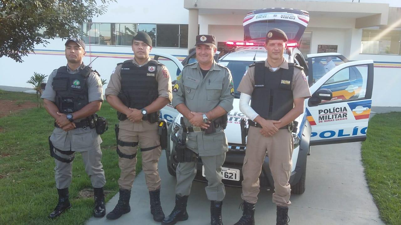 Polícia Militar de Vazante recebe nova viatura