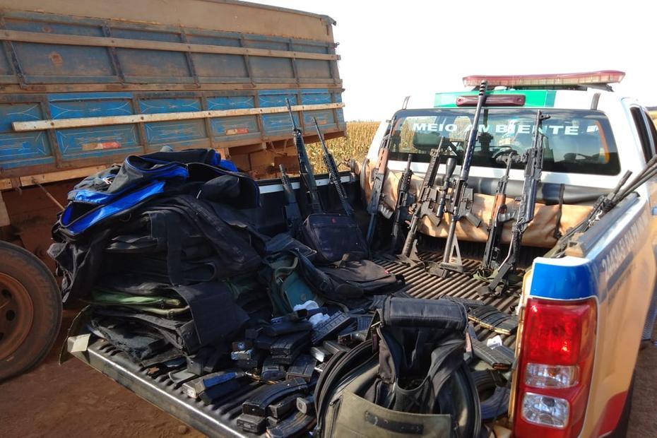 Polícia libera reféns e prende dez criminosos em Uberaba