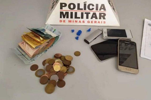 Seis pessoas são presas com drogas, dinheiro e telefone celular em Lagoa Grande