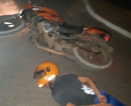 Mototaxista que fazia corrida de Patos de Minas a PO é assaltado e ladrão acaba preso em Lagoa Grande