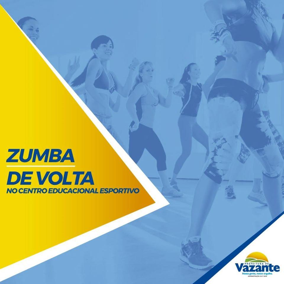 Programa Zumba está de volta com Inscrições abertas