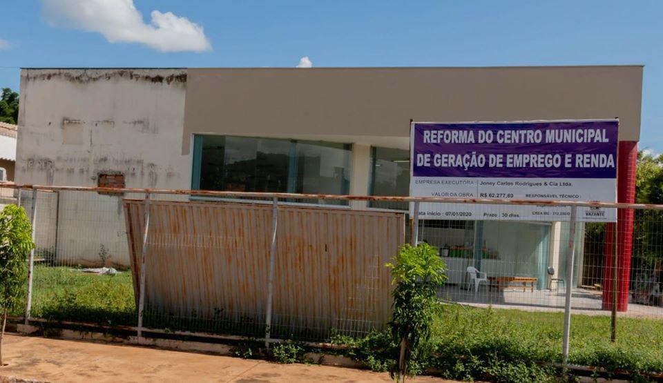 Centro de Geração de Emprego e Renda passará por reformas