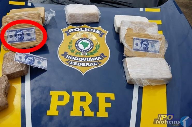 PRF prende mulheres com o tanque do carro abarrotado de cocaína em Patos de Minas