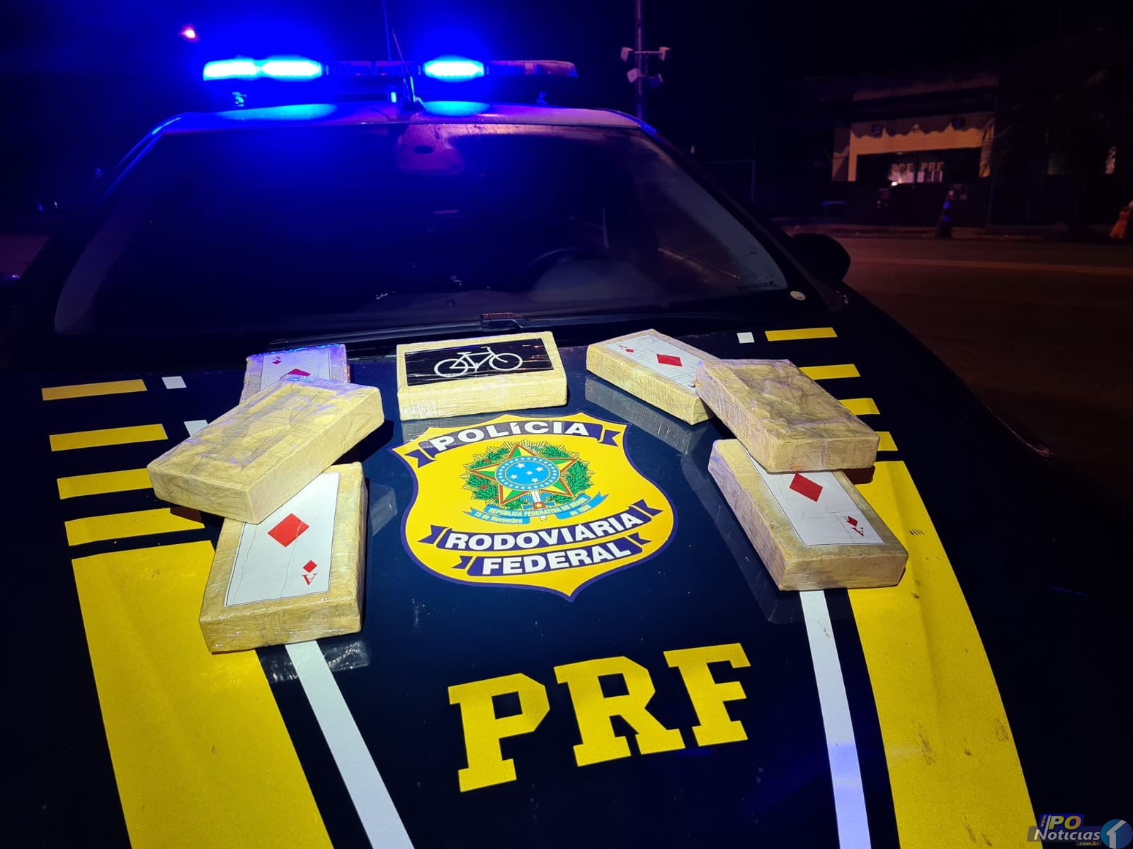 Polícia Rodoviária Federal volta a fazer grande apreensão de drogas na BR-365, em Patos de Minas