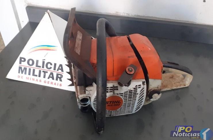 Homem é preso por receptação de motosserra em Lagoa Grande