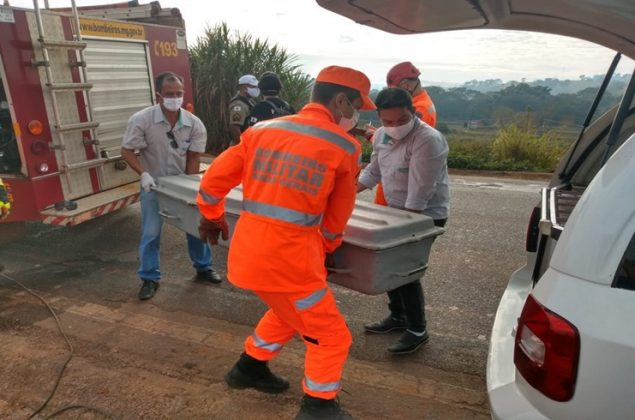 Motorista perde controle da direção, cai em ribanceira e morre na MGC-354 em Patos de Minas