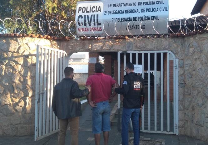 Homem envolvido em furto e abate de gado é preso pela Polícia Civil de Vazante