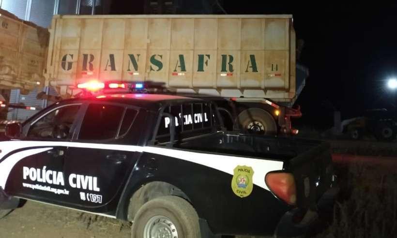 Polícia recupera carga de milho avaliada em R$ 35 mil em Serra do Salitre
