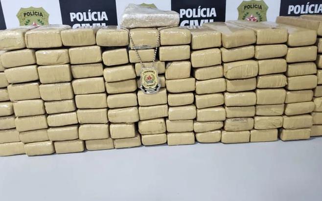 Jovens de Vazante e Lagamar são presos transportando drogas na BR 365