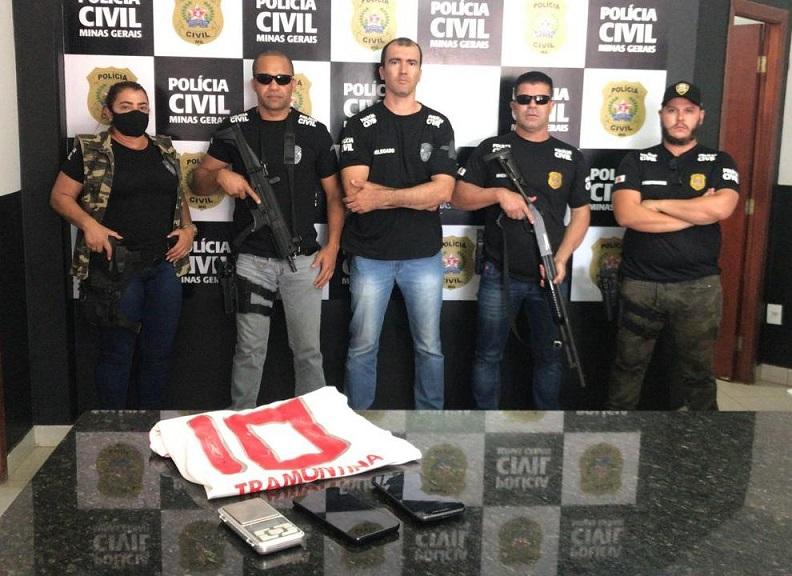 Autor de assalto na região da Água Quente é preso em Paracatu pela Polícia Civil de Vazante