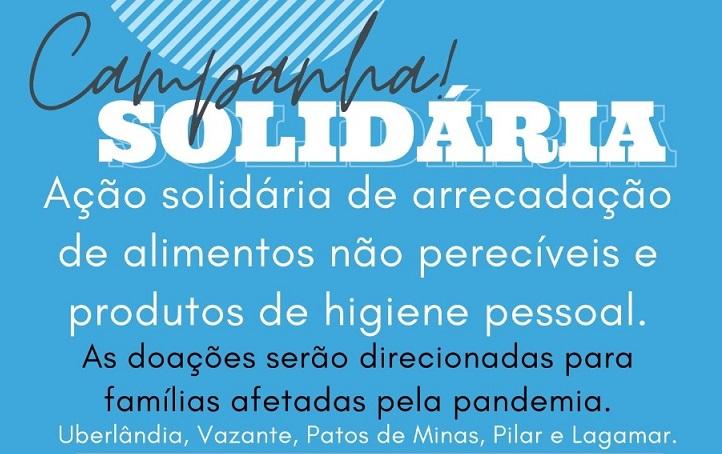 Read more about the article Voluntários promovem campanha solidária para ajudar o mais afetados pela pandemia de Covid-19 em Vazante e região