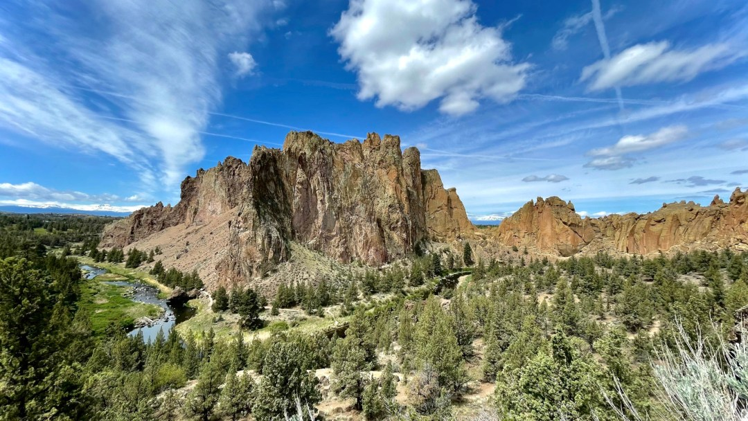 Smith Rock State Park in Oregon photo by Ben Adams