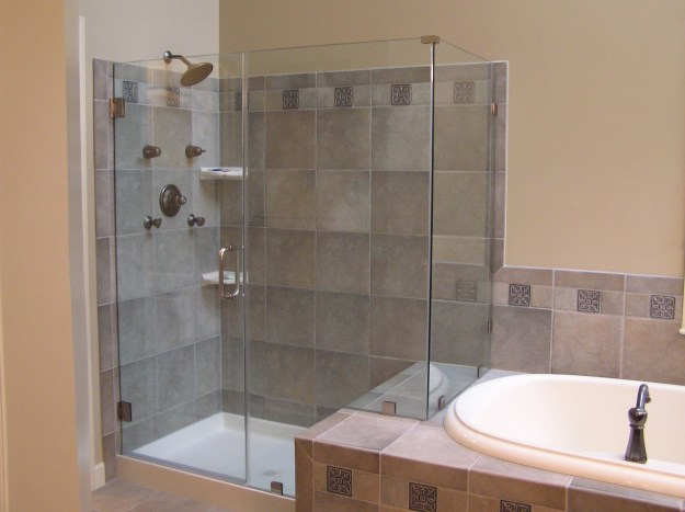 bathroom remodel contractor. bathroom renovation with new tiles