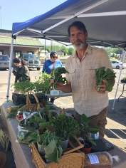 Farmers' Markets link rural food production to town consumption.
