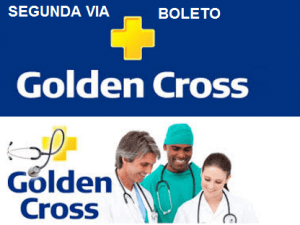 SEGUNDA VIA FATURA BOLETO GOLDEN CROSS