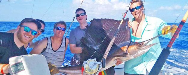 Deep sea fishing in Montego Bay
