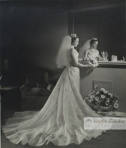 Reprints of Wedding Photos & Original Negatives Available for most Weddings Photographed by Monte Luke Studio since 1969