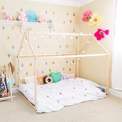tout sur le lit montessori