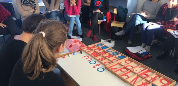 Formation Montessori 3-6 ans : le langage