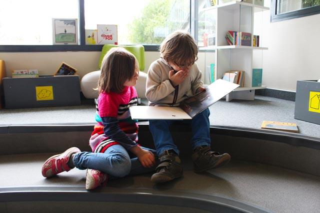 Sortie primaire médiathèque de Montessori Internationale de Bordeaux-Gradignan