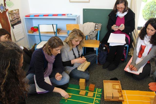 Ecole montessori International Bordeaux - formation mathématiques