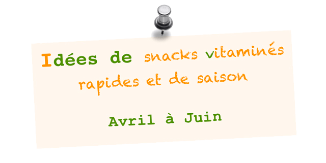 snacks vitamines