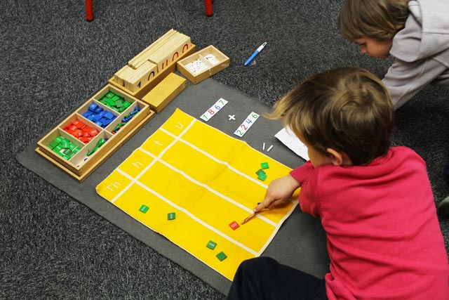 mathematics montessori