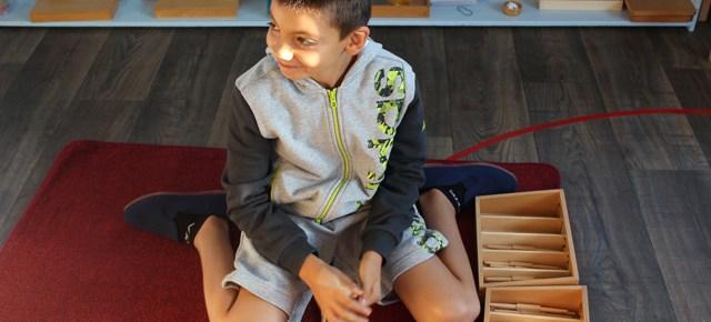 Ateliers Montessori le mercredi