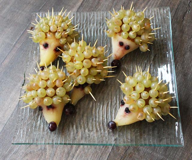 snack montessori herisson