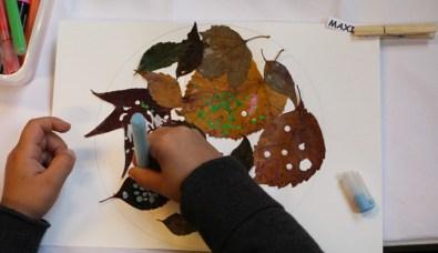activite montessori automne mandala