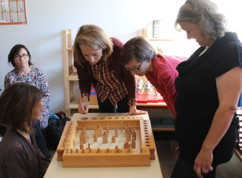 formation montessori 3-6 emboitements cylindres