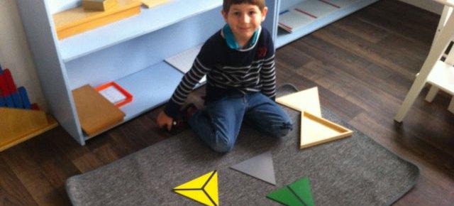 De nombreuses activités Montessori en ambiance 3-6 ans