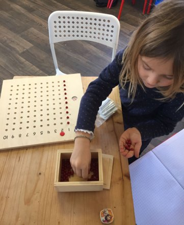 montessori international bordeaux mémorisation multiplication