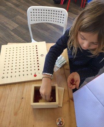 montessori international bordeaux mémorisation multiplication