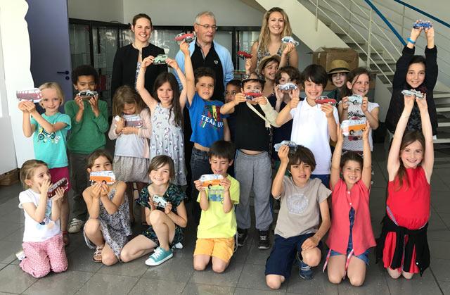 Montessori International Bordeaux - visite minaluxe - groupe CP et CE1