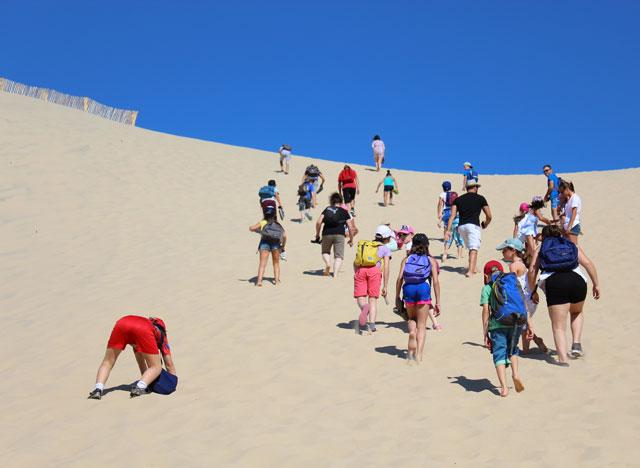 sortie dune pyla montessori international bordeaux 15