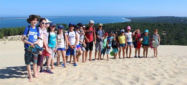 Incroyable sortie de l'école Montessori à la dune du Pyla !