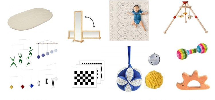Montessori Materials for Infants 0-3 Months