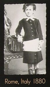 Montessori as a Young Girl