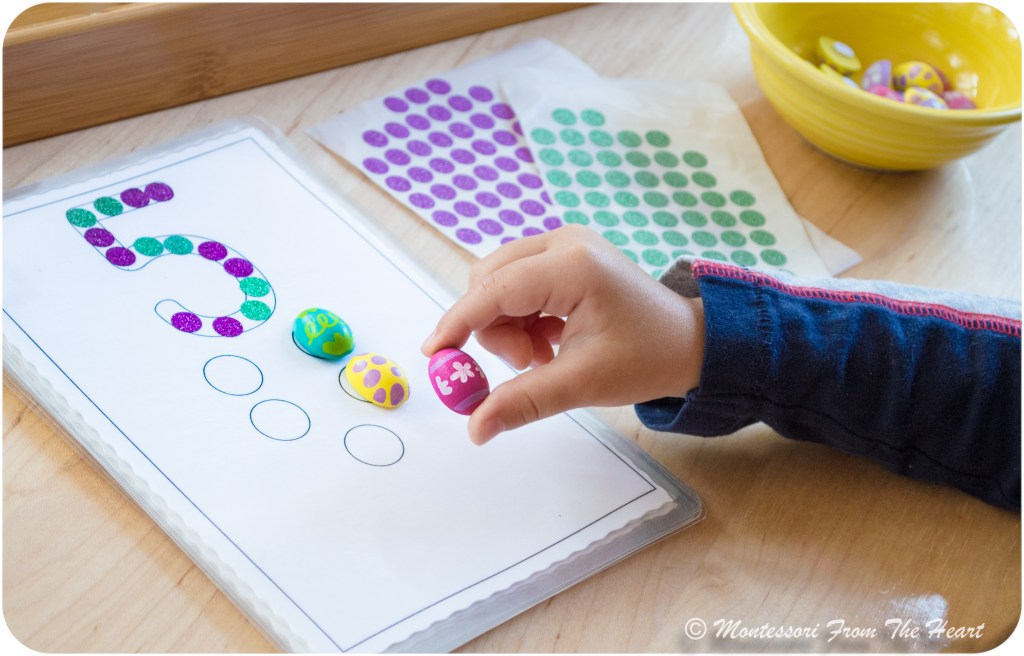 Hands-On-counting-preschool-number 5