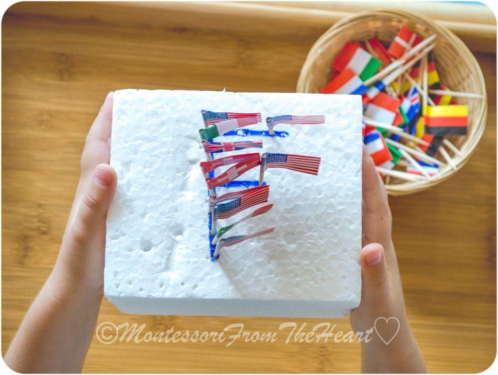 Flag-Fine-Motor-Styrofoam-Kids-Activities