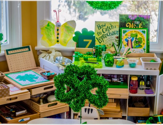 St Patrick's Day Inspired Learning Space