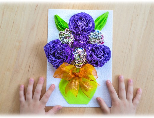 3D-Napkin-Kids-Craft-Process-Art
