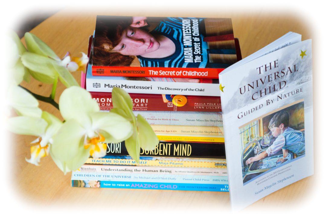 Books to Raise a child Montessori Way