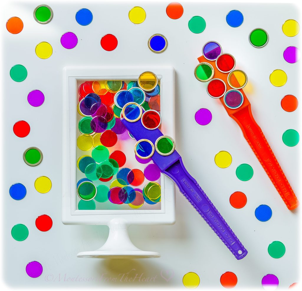 Ikea-Posting-Frame-Magnetic-Wand-Toddler-Activity-Hack