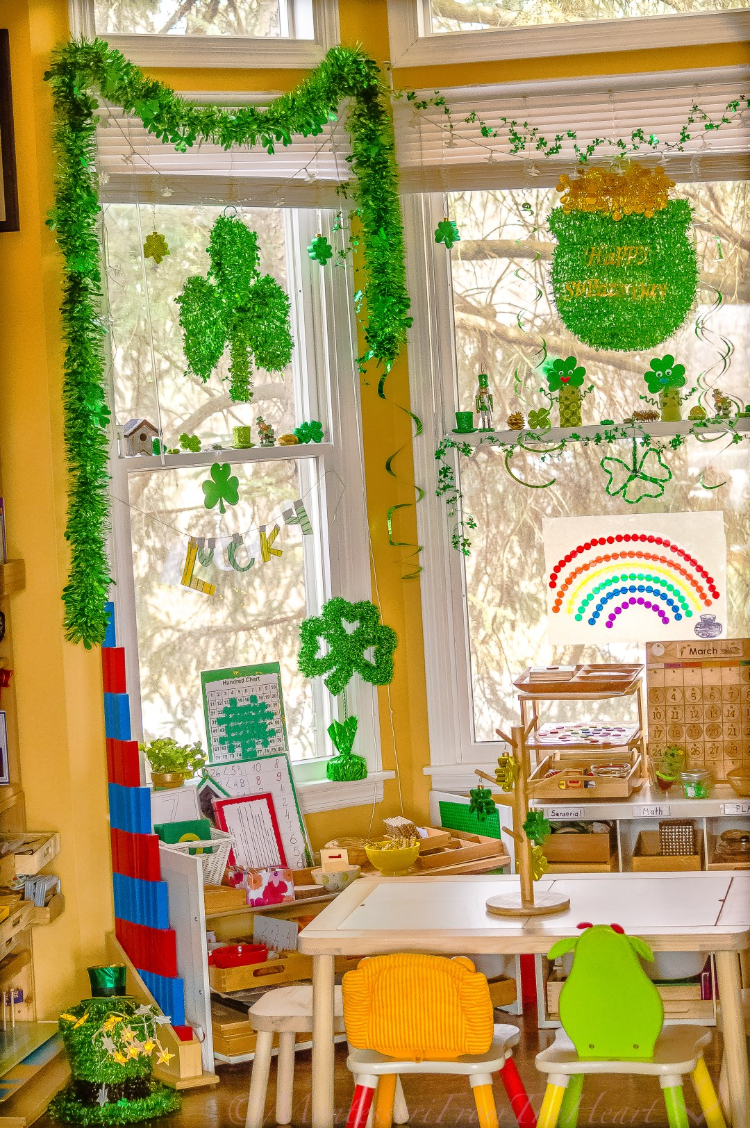 St Patrick's Inspired Montessori Learning Space