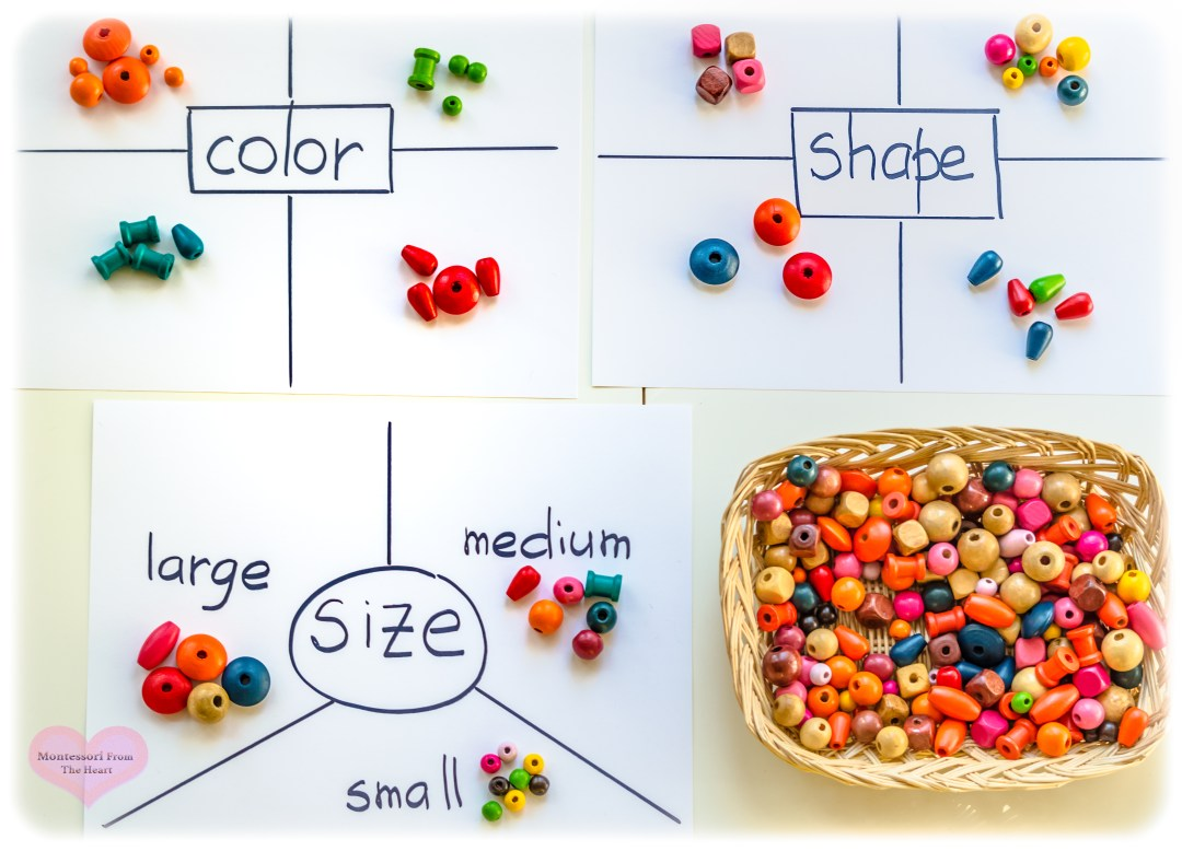 Sorting-Wooden-Beads-Math-Preschool-Homeschool