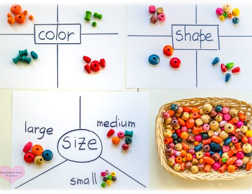 Sorting-Wooden-Beads-Math-Preschool-Homeschool